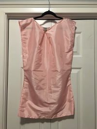 One of a kind hand-made pink woman shirts. Size: S-M. Silk fabric. New!!  Charleston, 29455