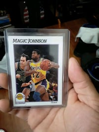 1991 NBA hoops magic Johnson card