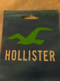 Hollister gift card Los Angeles, 90055
