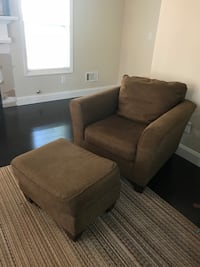 Occasional Chair and matching Ottoman