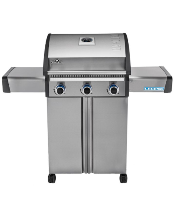 gray Legend 3-burner gas grill