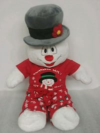 red and white bear plush toy Swanton, 43558