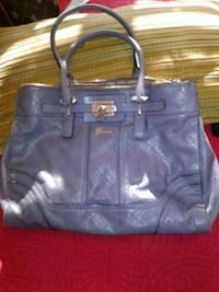 blue leather 2-way handbag Montgomery Village, 20879