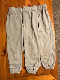 2 pair Y-M Franklin baseball pants  Gurnee, 60031