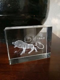 3D Glass Laser Art - Free w/ Purchase Saint Cloud, 34771