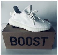 AUTHENTIC Yeezy Triple Whites Franklin, 53132
