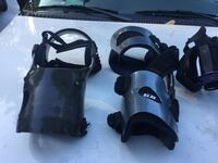 Carbon fibre knee braces   1500 new  100-150. Each  depending on which one Saanich, V9E 2C3