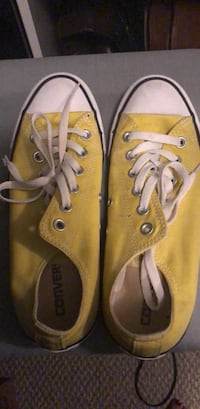 pair of yellow Converse low-top sneakers Pearland, 77584