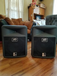 Pevy non powered speakers