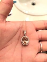 Pink and White Sapphire Necklace Moreno Valley, 92553