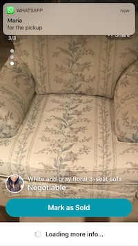 FREE sofa love seat and armchair need gone today! Toronto, M3K 2A3