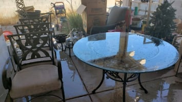 Patio chairs &Table