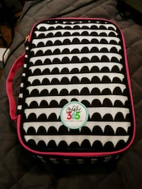 white and red polka-dot backpack Indianapolis, 46222