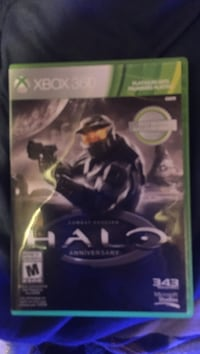 Xbox 360 Halo 3 game case Keswick