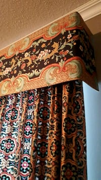 Curtains / drapes with valences 709 km