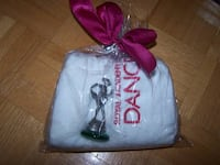 New ROYAL ACADEMY OF DANCE small towel & Pewtar Figurine Vaughan