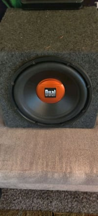 12 in subwoofer and amplifiers