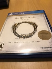 PS4 GAME THE ELDER SCROLLS