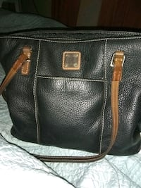 black leather 2-way bag Ocean Springs, 39564
