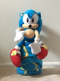 sonic the hedgehog plush and blanket Chantilly, 20151