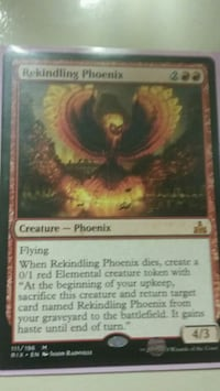 Magic the gathering mtg rekindling Phoenix Memphis, 38119