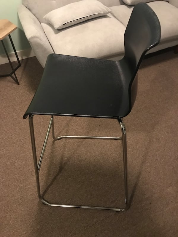 Volfgang ikea bar stool with backrest 4dc90fcd-c6d8-4032-8221-681836728783