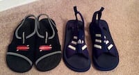 Boys Sketchers and Adidas Sandals Size 4 Bowling Green, 42104