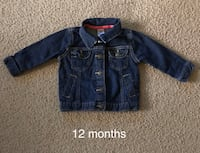 Baby girl jean jacket 12months  Tulare, 93274