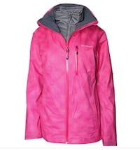 Columbia 2 in one winter jacket