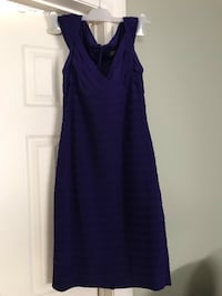 Adrianna Papell dress. Size 8 gorgeous violet pleated dress reduced  Mississauga, L5B 4G7