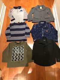 Lot of boys clothes size 3-4 years old Montréal, H3X 1J3