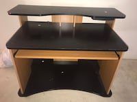 rectangular black and brown wooden desk 56 km