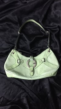 Green gator skin GUESS purse South Daytona, 32119