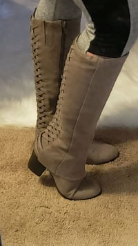 Hot & Sexy tall Fergalicious Boots Sexy Sz 8M Laurel