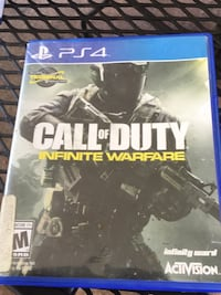 Call of Duty Infinite Warfare PS4 game case Conyers, 30013