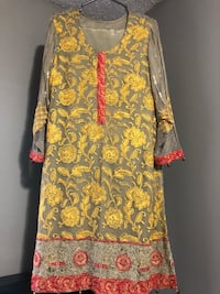 women's yellow and white floral dress Calgary, T3J 2W5