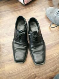 pair of black leather dress shoes Edmonton, T5X 3W7