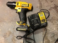 Dewalt 12v Cordless Drill with Battery and Charger Huntington Beach, 92647
