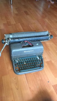 black and gray typewriter with case Washington, 20019