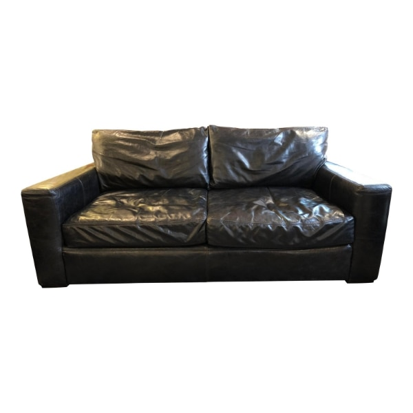 Outstanding Restoration Hardware Leather Maxwell Sofa Evergreenethics Interior Chair Design Evergreenethicsorg