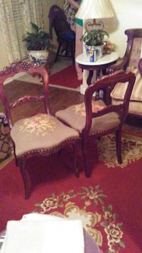 antique tapestry covered chairs. only 2 available Frankfort, 40601