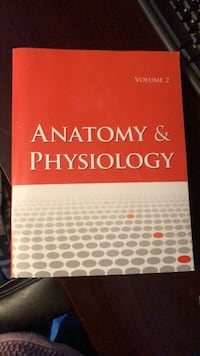 Anatomy and physiology 1,2 both books for $50 . Like brand new  Kenmore, 14217