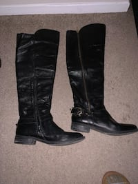 Genuine leather boots size 7 London, N5Y 4V4