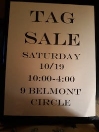 Tag Sale Danbury CT Danbury