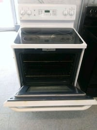 white and black induction range oven Elyria, 44035