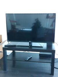 """40"""" TV and Ikea Table for $70 Baltimore, 21201"""