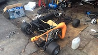 Yellow and black go kart need to sell fast  Surrey, V3R
