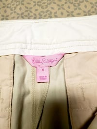 Lilly Pulitzer tan skirt. Queens, 11385