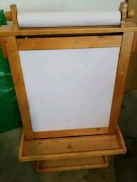 Whiteboard/Chalkboard Wood Easel w/paint holder Alpharetta, 30005