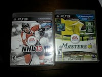 Ps3 10 for both! Nhl13 master tiger woods 12